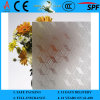 3-8mm Clear Rh-6 Acid Etched Patterned Glass com CE & ISO9001