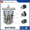 8 het Vullen van het Poeder van het Cement van pijpen de Automatische Roterende Machine van de Verpakking