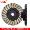 Diâmetro 100mm Double Turbo Layer Grinding Cup Wheel