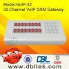32 appareil voip en vrac SMS de support du Gateway GoIP32 de GM/M de ports