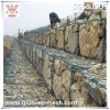 PVC Coated/Electrical Galvanized/Gabion Mesh para Protection