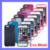2015 nuovo Promotion Phone Caso TPU Silicon Tech 21 Color Soft Cover Evo Mesh per il iPhone 6 4.7 (CASE326)