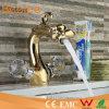 Mélangeur de lavage de bassin de traitements de double de mélangeur de robinet d'évier de salle de bains