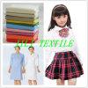 Tc 65/35 gebleichtes und gefärbtes Shirting Gewebe-Schuluniform-Gewebe/medizinisches konstantes Gewebe
