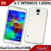 Mtk6572 dual core, 2g, Android 4.2 Mini S5 2g GM/M Smartphone