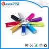 Lippenstift Mobile Power Bank mit LED Flashlight