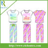 Flame Resistant Pyjamas Set девушки с Slouch Hight/Low