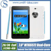 7 PC дюйма Mtk6572 Dual Core 3G Dual SIM Card Android Tablet с Big Speaker (PMD724L)