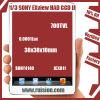 1/3 Sony Exview had de Module SONY4140+811 700TVL 0.0001Lux 38x38x10mm van de Raad CCD