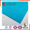 Azul 6mm Polycarbonate Embossed Sheet para Building Construction