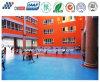 Suelo antideslizante para la tierra de escuela con la protección eficaz contra caer