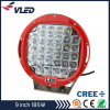 Super brillante 9inch 185W CREE LED lámpara de trabajo Jeep SUV