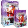 Bolso de compras de papel de la Navidad