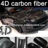 Nuovo Types1.52*30m Air Free Bubbles Black 4D Carbon Fiber Vinyl