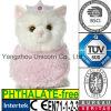 Giocattolo farcito molle della peluche del gatto di colore rosa della parte superiore di Pirncess del regalo EN71
