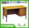 Tabla de la oficina de madera para el profesor con cajón Oficina Muebles1