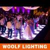 Diodo emissor de luz portátil Dance Floor do RGB do controle do efeito de estágio DMX