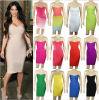 Платье знаменитости платья повязки Ким Kardashian StraplessSexy Bodycon (W96332221)