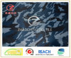 impressão poli camuflar do teste padrão do campo de gelo do tafetá 210t (ZCBP167)