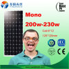 Poly panneau solaire mono bon marché chaud de 150W 200W 230W 300W en stock