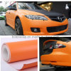 Air Free Bubble를 가진 주황색 3D Carbon Fiber Vinyl Car Wrap/Car Sticker 1.52X30m