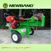 垂直およびHorizontal Log Splitter Petrol 30ton