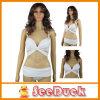 Reizvolles White Bandage Swimwear Push herauf Women Bikini (KS610401)
