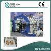기계 (CH884-800F)를 인쇄하는 Chinaplas 4 색깔 플레스틱 필름 Flexo