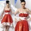 魅力の流行の結婚式の長い服