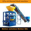 Semi автоматическая конкретная полая машина Paver машины блока (QT4-26)