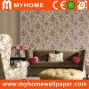Papier de mur à la maison de décor avec la conception florale