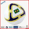 Impression de drapeau du Brésil de boule du football