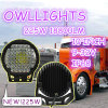 4WD Round 225W LED Work Light Cars Accessories 10 Inch 225W LED Driving Light für 4X4