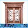 Puerta de cobre verdadera fuerte de lujo del chalet (BG-C9092)
