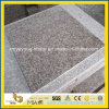 G687 Peach Red Granite Polished Floor Tile / Paving Thin Tile