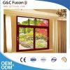Finestra di scivolamento di alluminio di G&C Fuson con doppio vetro Tempered