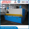 Máquina de estaca de corte hidráulica da placa de aço da guilhotina do controle de QC11Y-10X2500 NC