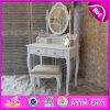 現代木製の化粧台の木製の家具デザインドレッサー表W08h012