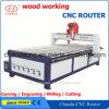 3 máquina de estaca da madeira do CNC 1325 da linha central para a porta da mobília