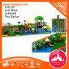 Campo de jogos ao ar livre plástico de 2016 áreas de jogo do jardim