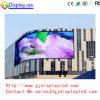 Exhibición de LED al aire libre a todo color curvada DIP346 P16