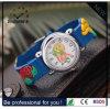 Reloj respetuoso del medio ambiente de la historieta, relojes de los cabritos, reloj del caucho de silicón (DC-259)