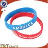 Le Wristband fait sur commande d'impression de patte folâtre le bracelet de silicone (FTSW2550A)