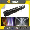 Arandela de la pared de los ojos 10W LED RGBW de la luz 8 del efecto de etapa