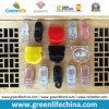 Clip de papel de los colores de los productos de los efectos de escritorio plásticos multi de moda de la oficina