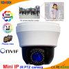 1.3 mini cámara de interior del IP PTZ de Megapxiel
