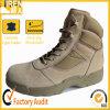 2016のスエードの革靴の革タンの新しい軍隊の軍の軍隊の砂漠の戦闘用ブーツ