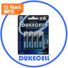 Bateria alcalina do AA Am3 Lr6 da alta qualidade do cartão da bolha