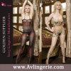 Bas de corps de sous-vêtements de vêtements de nuit de perspective de la lingerie des femmes sexy (KK02-029)