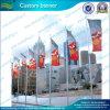L'abitudine di alta qualità ha stampato le bandierine lavorate a maglia & filate del poliestere (J-NF02F06011)